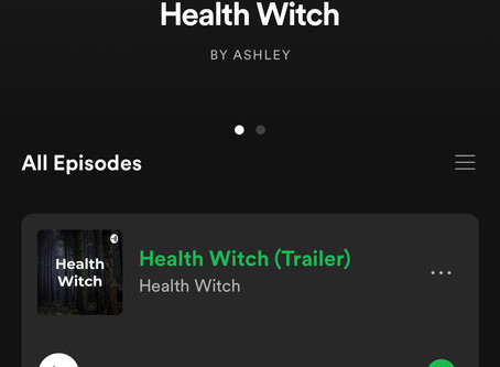 Health Witch Podcast is here!