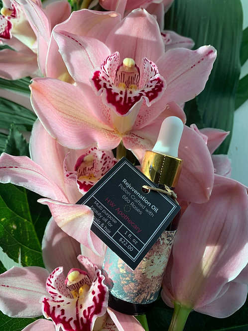 The Rejuvenation Oil. The Love Potion with 660 roses.