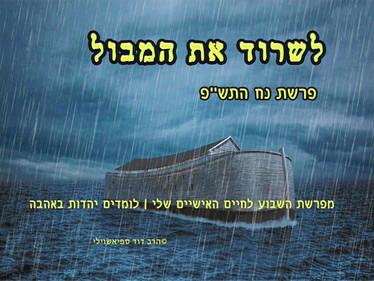 לשרוד את המבול