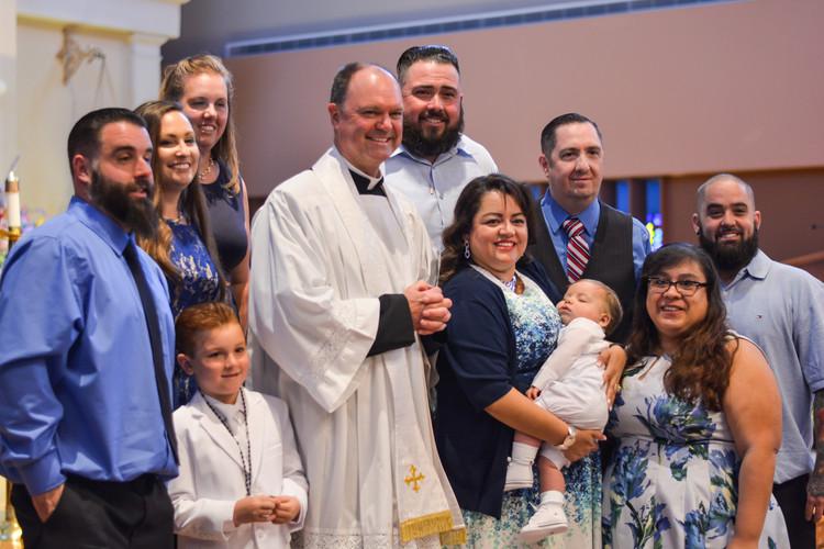 Miguel's Baptism