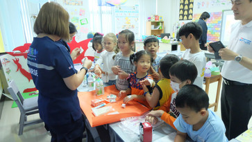 Basic First Aid Training for Children