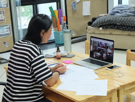 First Week of Online Teaching