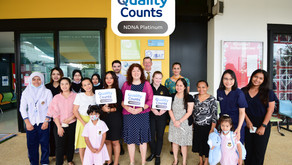 SIH EARLY YEARS SECTION WINS HIGH QUALITY AWARD.