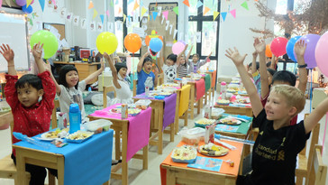 END OF THE YEAR CLASSROOM PARTY 2020