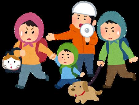 ペット同伴避難は環境省の指針です