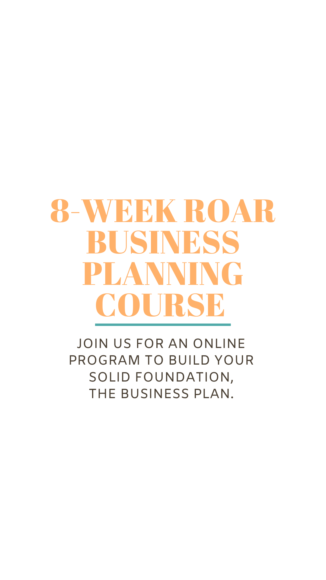 ROAR Business Planning Course
