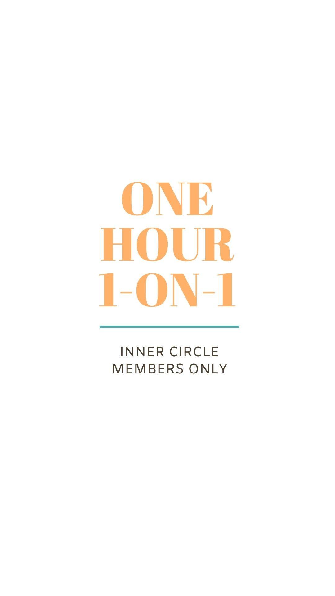 1 hour Inner Circle ROAR Session
