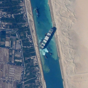 Blocking International Trade: The Suez Canal Incident
