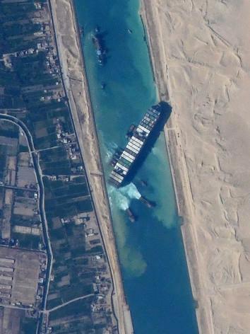 Blocking International Trade: The Suez Canal Incident