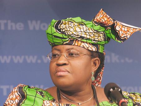 Ngozi Okonjo-Iweala as Director-General of the WTO
