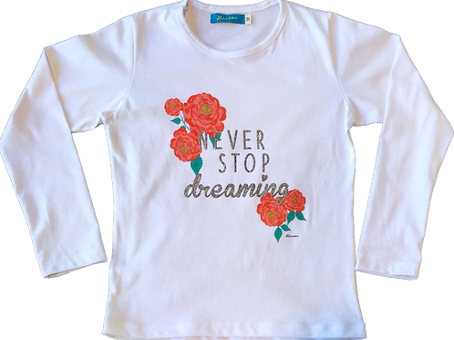 Remera Never Stop
