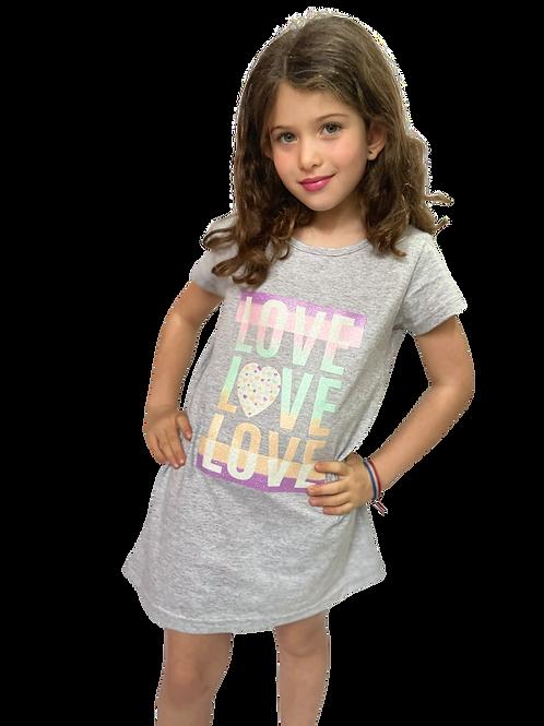 Vestido LOVE LOVE LOVE 💗