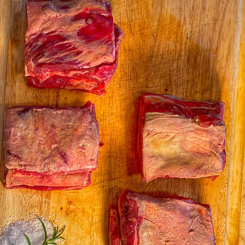 Beef Short ribs (AVG WT: 2.7lbs - 3lbs)