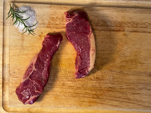 New York Strip Steaks (2 Packs) AVG WT: 16oz-24oz