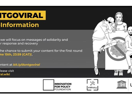 #DontGoViral DEADLINE APPROACHING, APPLY FOR THE SECOND ROUND OF PRIZES