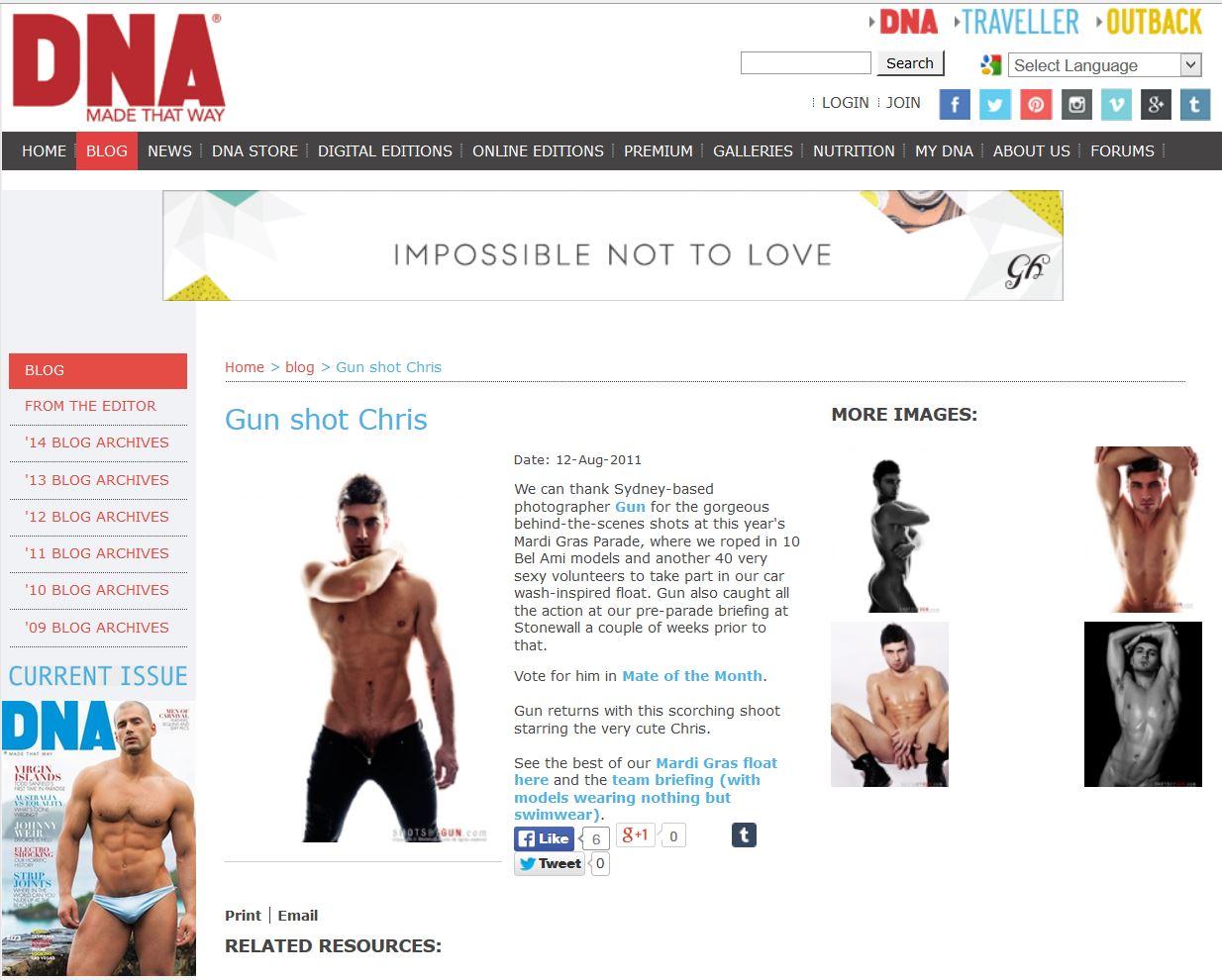 Chris - DNA Blog