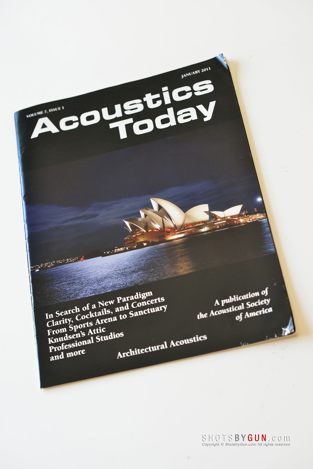 Cover of Acoustics Today