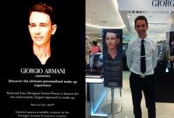 Giogio Armani Cosmetic Campaign