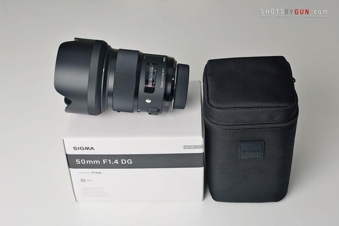 Sigma 50mm f/1.4 DG HSM Art - Preview on Nikon D800