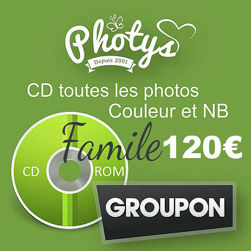 CD GROUPON FAMILLE