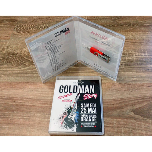 Boîtier format Blu-ray pour USB