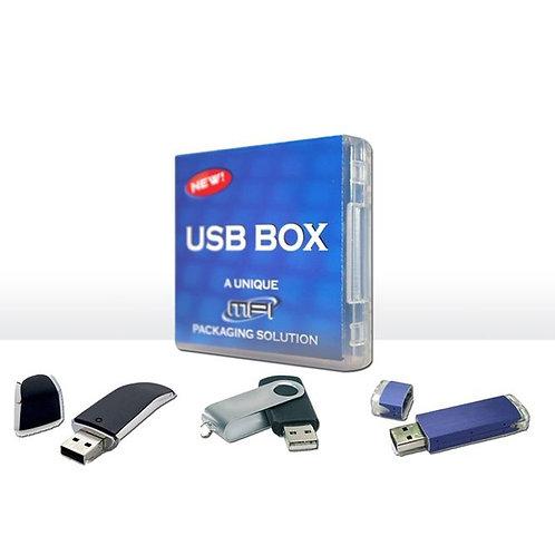 Boîtier carré pour USB