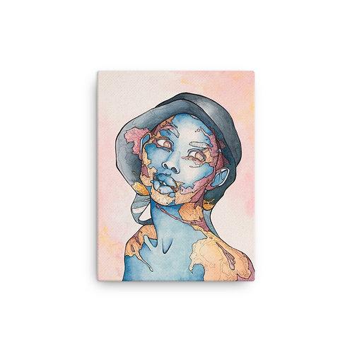 Canvas Willed Violet