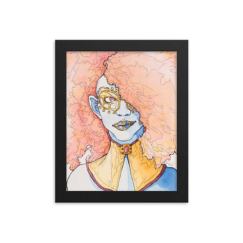 Framed photo paper poster Klimt