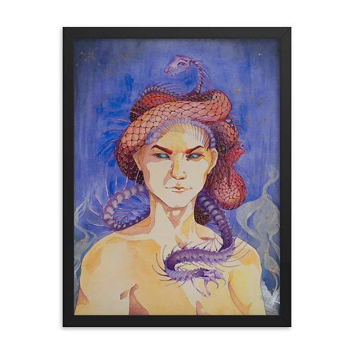 Framed poster Medusa