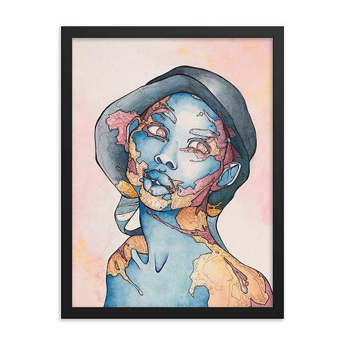 Framed poster Willed Violet