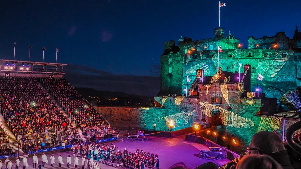 Scottish Splendour with Royal Edinburgh Military Tattoo August 2022 13 Days
