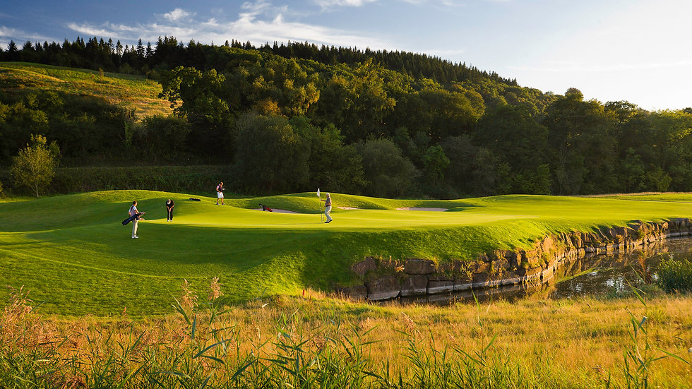 Golf Saxon England and Celtic Wales  - 8 Days