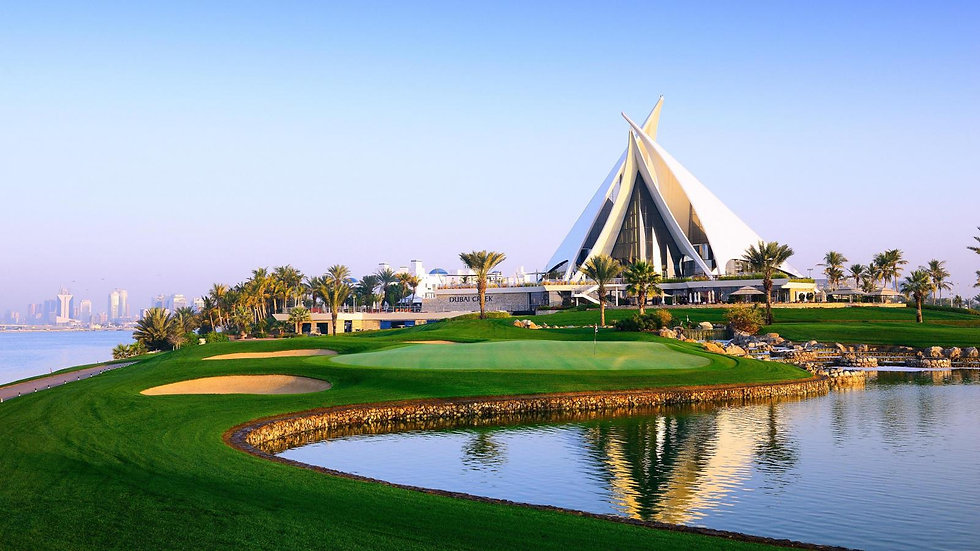 Golf in the Glamour of Dubai