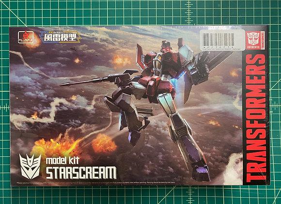Furai Flame Toys Transformers Model Kit - StarScream