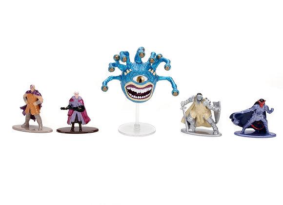 JADA Dungeons and Dragons Die Cast Figure Set