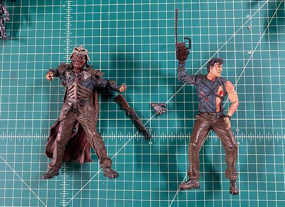 McFarlane Toys Movie Mania Evil Dead Ash and Deadite Lord