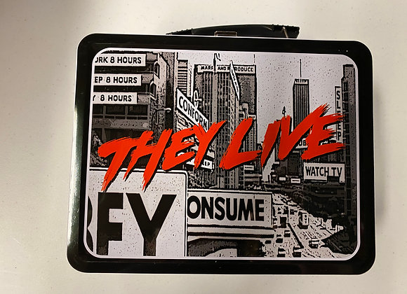 They Live - Tin Lunchbox/Tote