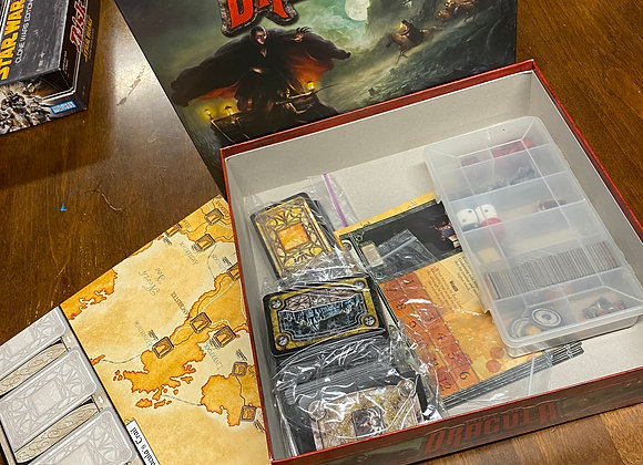 Fury of Dracula - Second Edition -