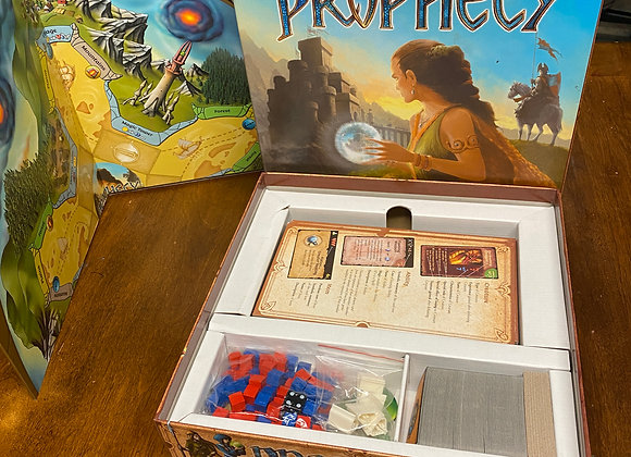 Prophecy Board Game - Open Box, never played