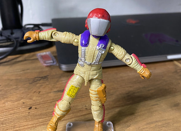 Gyro Viper 1987 GI Joe with helmet Excellent condition