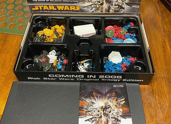 RISK -StarWars Clone Wars Edition 2005