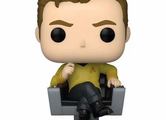 Star Trek: TOS Captain Kirk in Chair Pop! Vinyl Figure