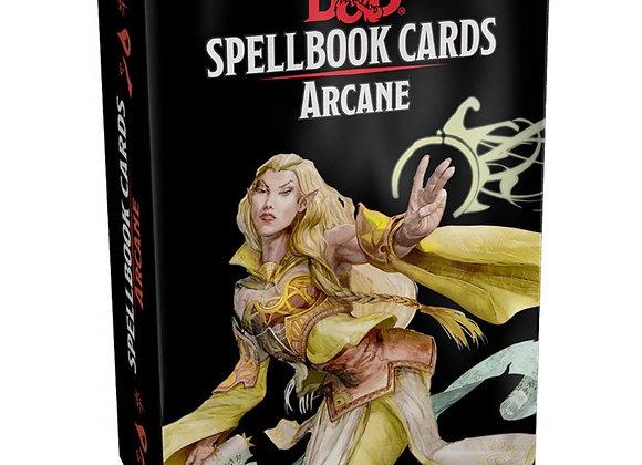 D&D Spellbook Cards Arcane - NEW
