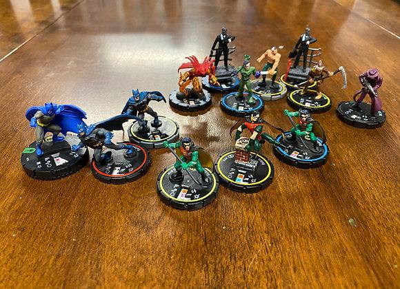 LOT - HeroClix DC Figures