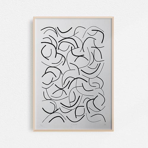 Curved Screen Print