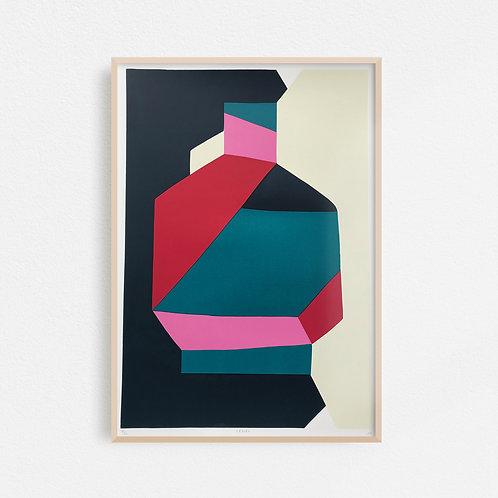 Vessel Screen Print