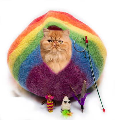 Over the Rainbow Cat Cave Pack!