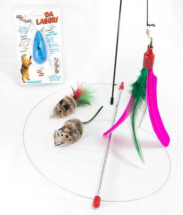 Go Cat Super Cool Cat Toy Bundle