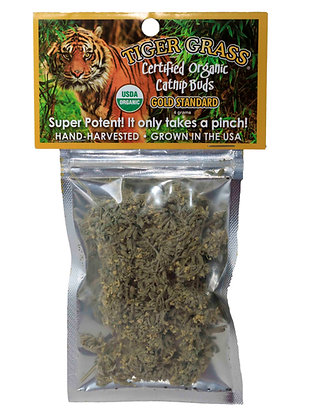 Tiger Grass Certified Organic Bud Bag