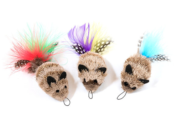 Da Feather Mouse 3 Pack